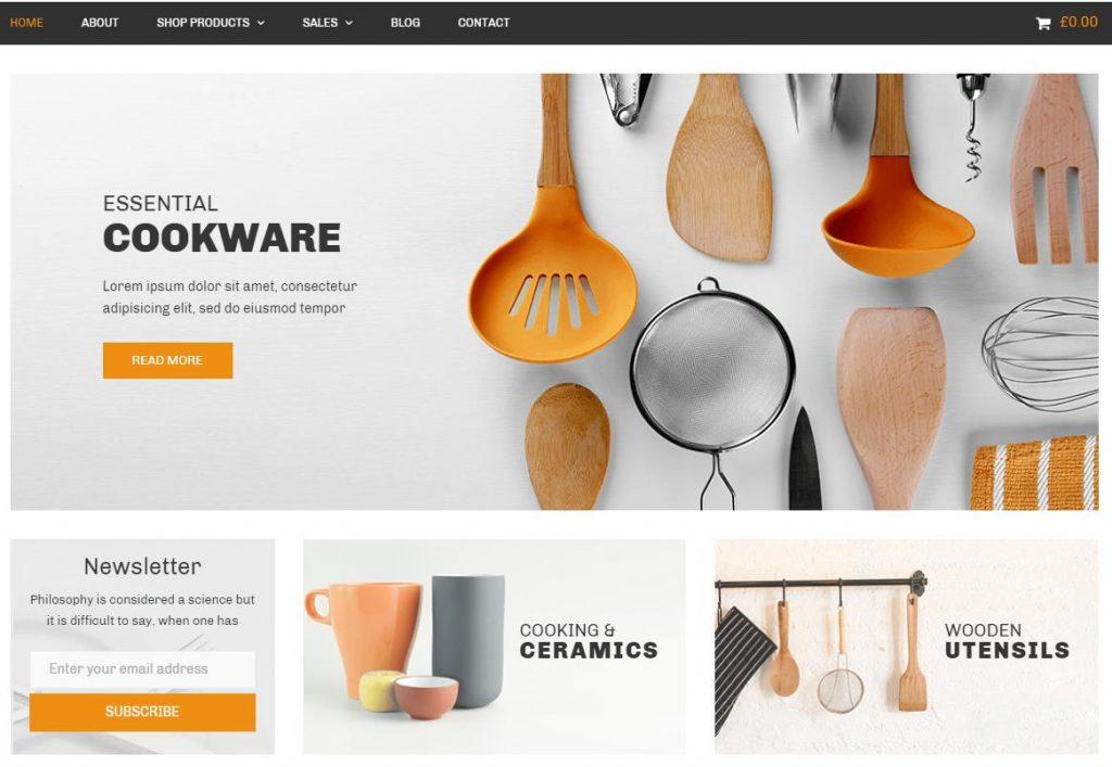 Nitro – Theme bán hàng WordPress