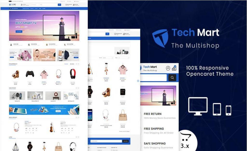 Techmart – Theme WordPress dành cho cửa hàng điện tử